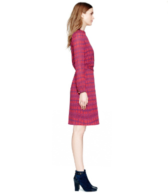 Washed Red Wine Hamana  Tory Burch Judi Dress