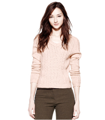 Tory Burch Faith Sweater