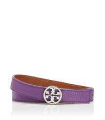 "Tory Burch 1"" Tory Reversible Logo Belt"