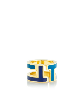 Tory Burch Tripp Enamel Ring