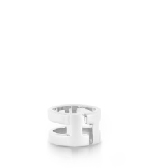 Tory Silver Tory Burch Tripp Metal Ring