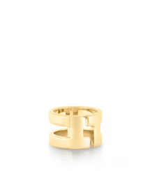 TRIPP METAL RING | SHINY GOLD | 701