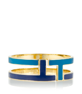Tory Burch Tripp Enamel Bangle