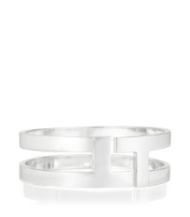 TRIPP METAL BANGLE | TORY SILVER | 047