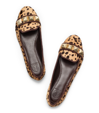 Tory Burch Printed Asher Smoking Slipper