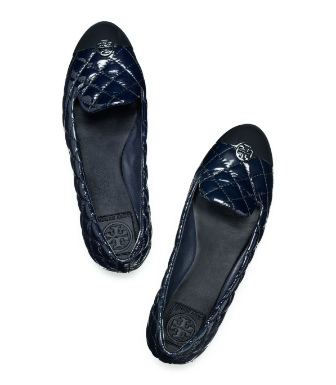 Tory Burch Patent Leather Kaitlin Smoking Slipper
