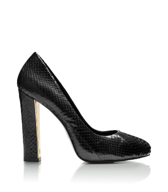Black Tory Burch Delilah Snake Pump