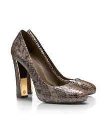 DELILAH 115MM PUMP - TWO TONE SNAKE | BRANCH | 206