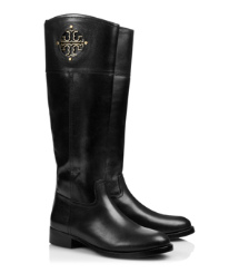 Black Tory Burch Kiernan Riding Boot