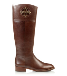 Almond Tory Burch Kiernan Riding Boot