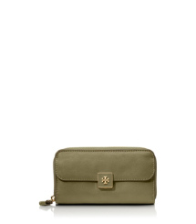 Tory Burch Clara Zip Continental Wallet