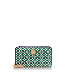 Tory Burch Halland Zip Continental Wallet