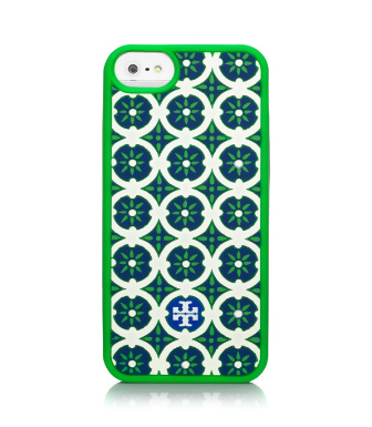 Bright Green Multi (combo A) Tory Burch Halland Silicone Case For Iphone 5