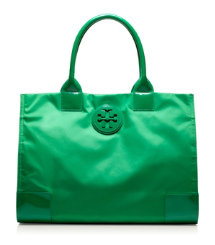 Emerald City Tory Burch Nylon Ella Tote