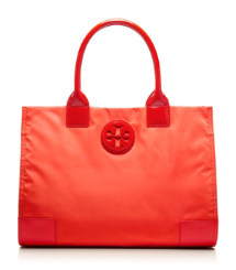 NYLON ELLA TOTE | ELECTRIC ORANGE | 802