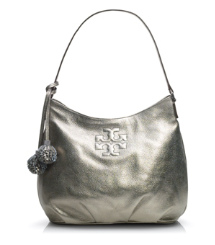 Tory Burch Metallic Thea Hobo