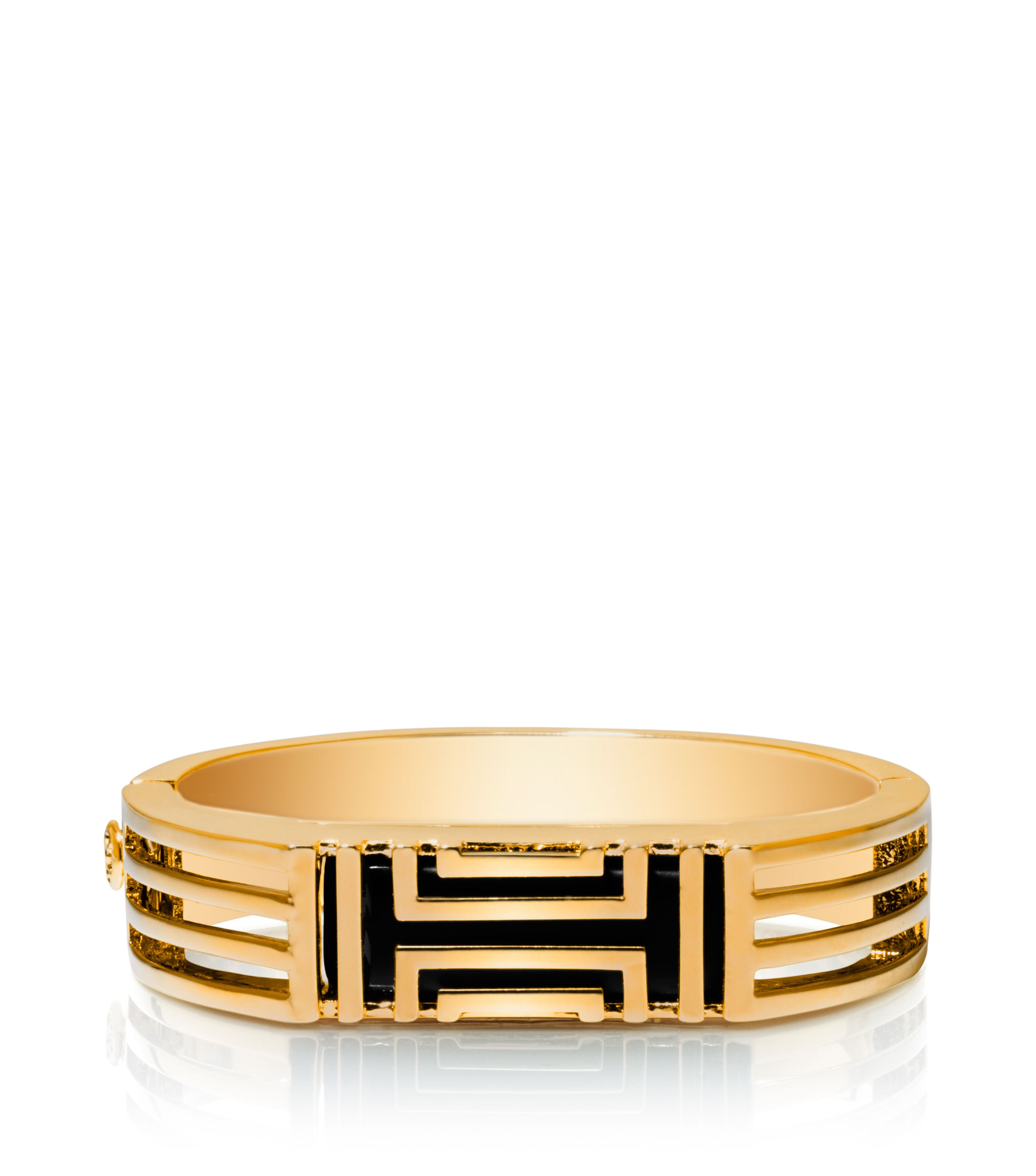 Sale alerts for Tory Burch Tory Burch for Fitbit Metal Hinged Bracelet - Covvet