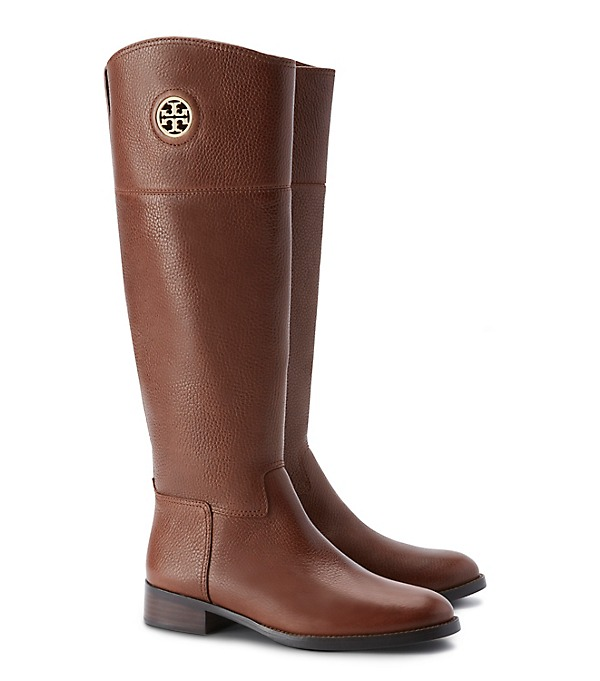 Tory Burch Womens Junction Riding Boots