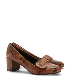 Tory Burch Snake-print Bond Pump