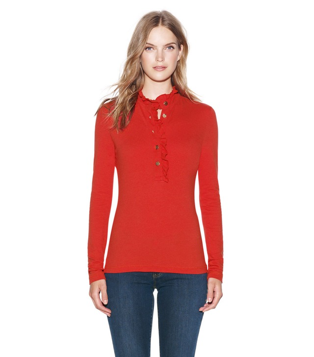LONG SLEEVE LIDIA POLO