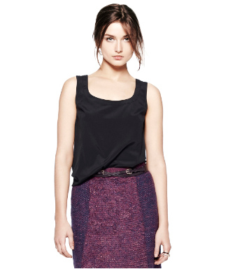 Black Tory Burch Elise Top