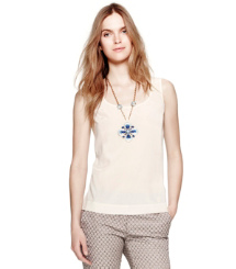 Ivory Tory Burch Elise Top