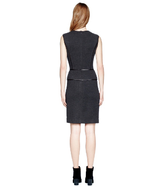 Charcoal Melange/black Tory Burch Violet Dress