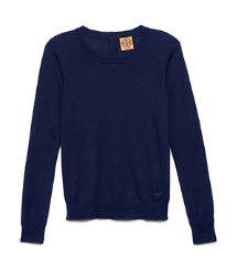 Med Navy Tory Burch Iberia Sweater