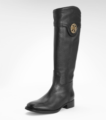 SELMA RIDING BOOT-TU | BLACK | 001
