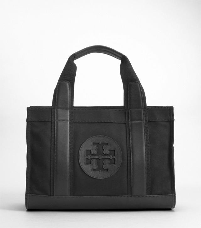 CANVAS MINI TORY TOTE