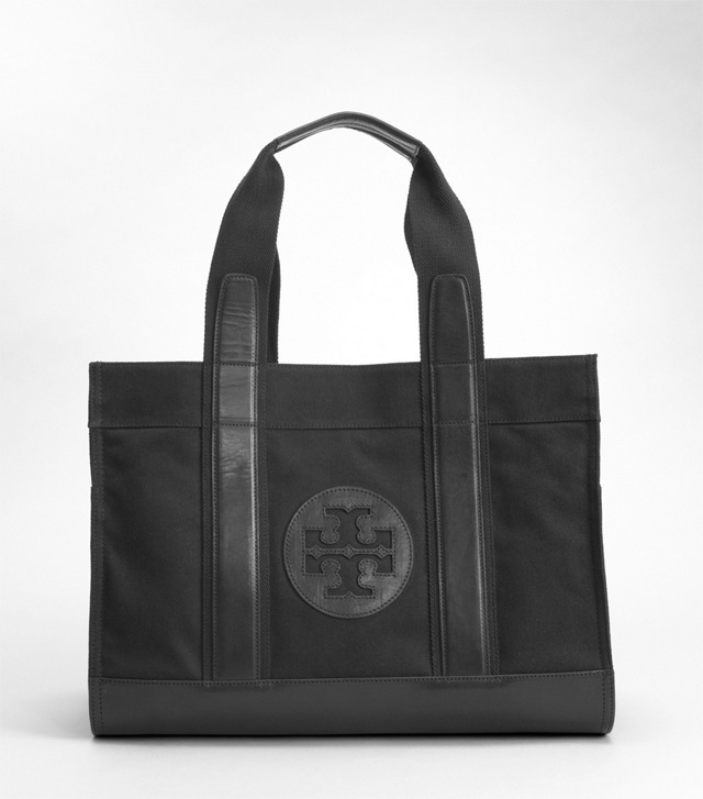 CANVAS TORY TOTE