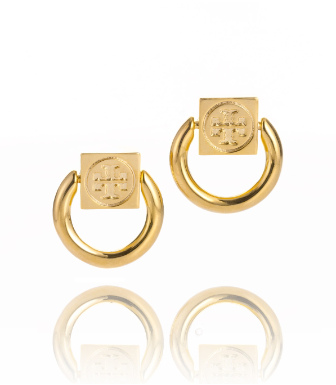 Tory Burch Varden Small Circle Earring