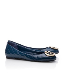 Tory Burch Quinn Quilted Leather Ballet Flat