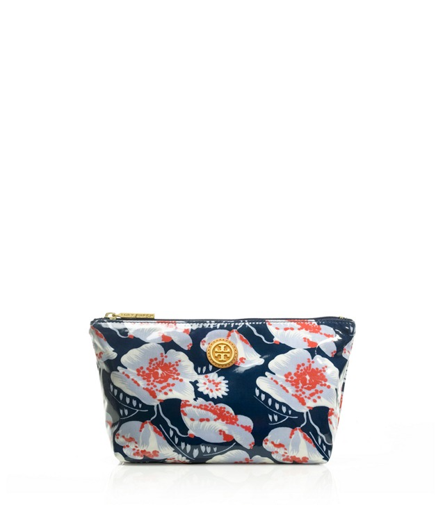 Printed Small Slouchy Cosmetic Case