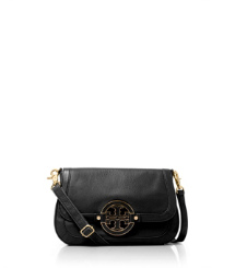 Black- Tory Burch Amanda Clutch