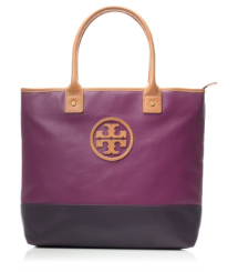 JADEN TOTE | PRETTY VIOLET/BLACK GRAPE | 515
