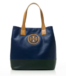 MICHELLE TOTE- | PERSIAN BLUE/ PINE | 413