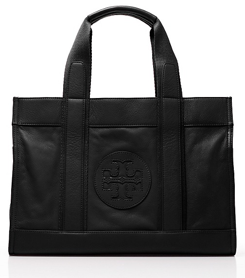Leather Tory Tote