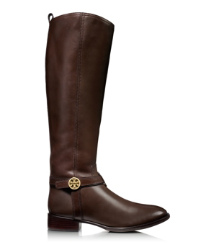 Coconut Tory Burch Bristol Riding Boot