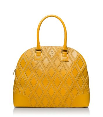 Tory Burch Robinson Patchwork Dome Satchel