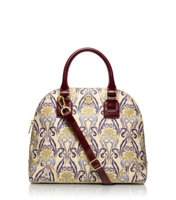 Tory Burch Printed Robinson Small Dome Satchel