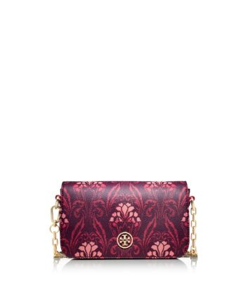 Tory Burch Robinson Printed Chain Mini Bag