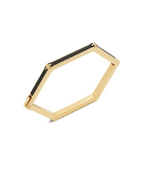 Tory Burch Hex Logo Ring Set