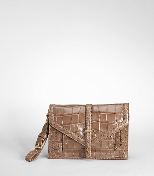 797 Crocodile Clutch