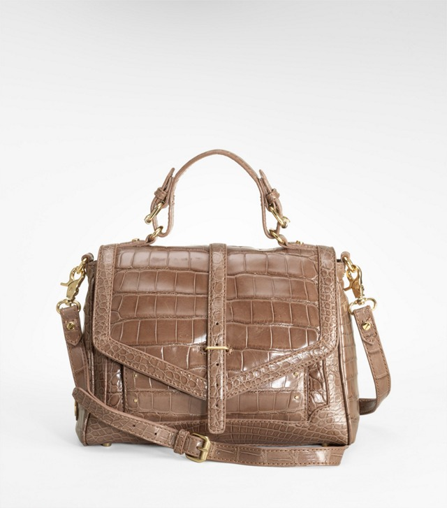 797 Crocodile SATCHEL