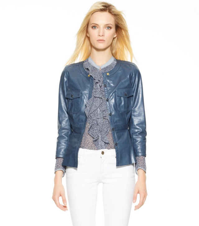 IMOGENE LEATHER JACKET