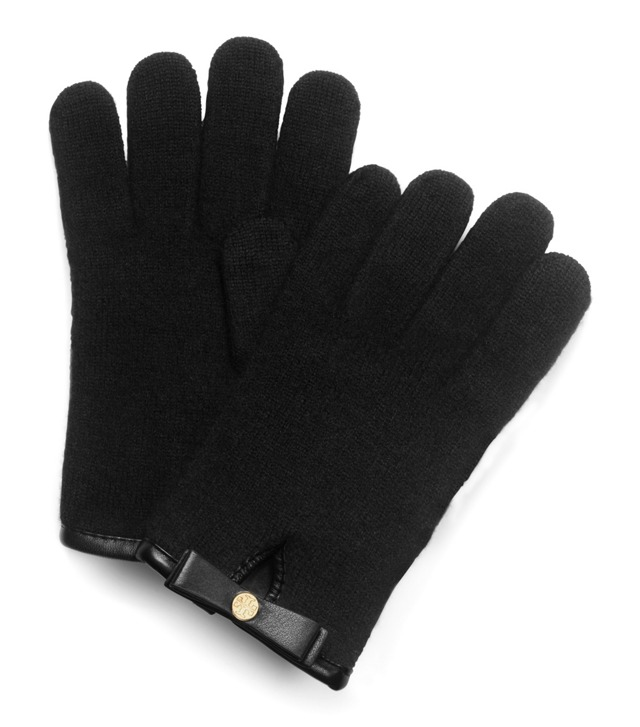 BOILED WOOL GLOVES