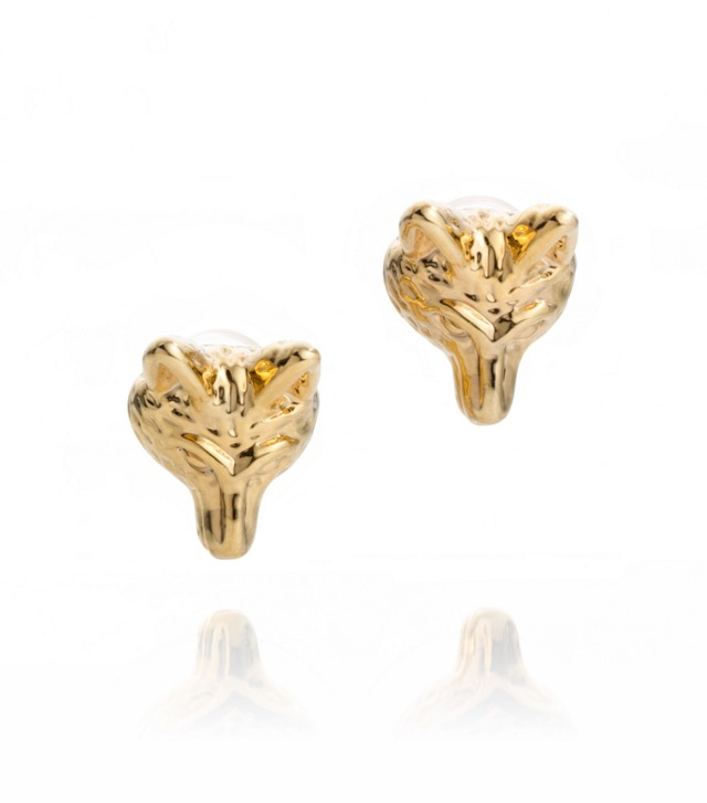 FOX HEAD STUD EARRING