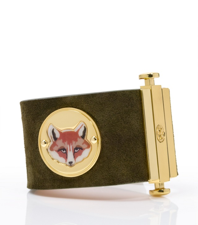 FOX FACE COIN CUFF