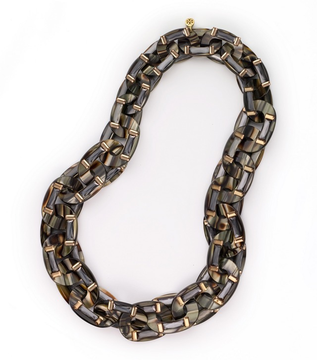 MATTEO RESIN CHAIN WITH STONES